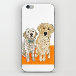 Two Buddies iPhone Skin