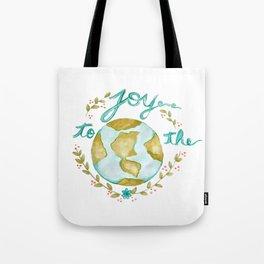 Joy to the World Christmas Tote Bag