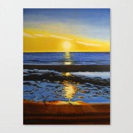 Sunset on the Hudson Bay  Canvas Print