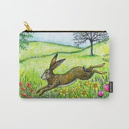Leap into Spring Carry-All Pouch