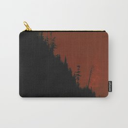 Into The Woods - Dark Forest - Red Carry-All Pouch