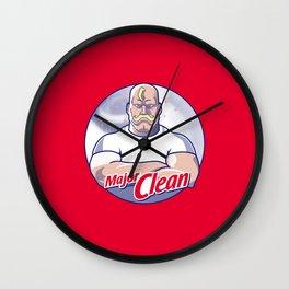 Major Clean Wall Clock