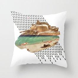 Beach Head Throw Pillow