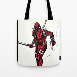 Wade Wilson. Merc with a mouth Tote Bag