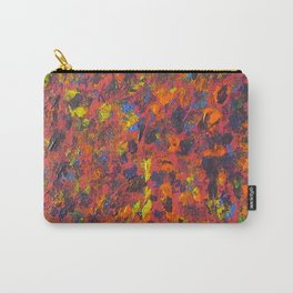 Autumn Colors Splatter Painting Carry-All Pouch