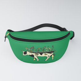 Cow Me Vegan Fanny Pack