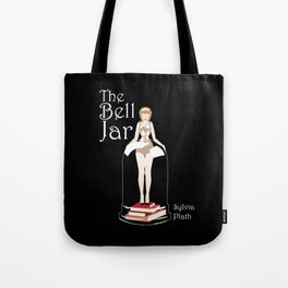 The Bell Jar by Sylvia Plath Illustration Tote Bag