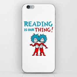 Dr Seuss Day iPhone Skin