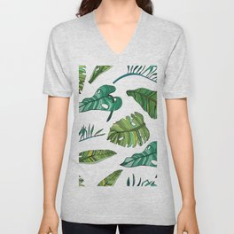 BANAN LEAVES Unisex V-Neck