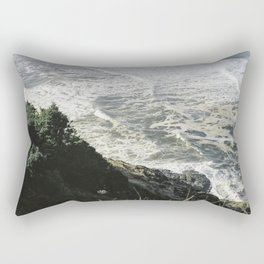 Of sea and foam Rectangular Pillow