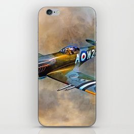 Spitfire Dawn Flight iPhone Skin