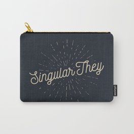 Singular They - Mellow Carry-All Pouch