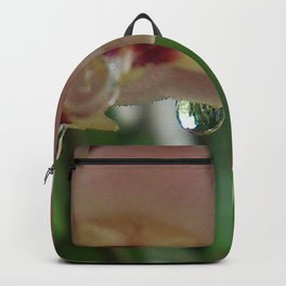 wax flower and dew Backpack