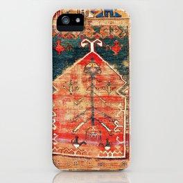 Konya Central Anatolian Niche Rug Print iPhone Case
