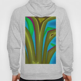 Abstract grass Hoody