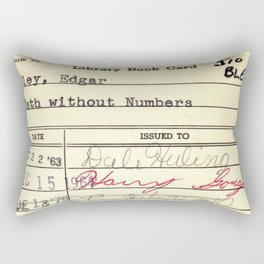 LibraryCard 510 Math Without Numbers Rectangular Pillow