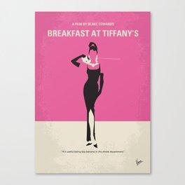 No204 My Breakfast at Tiffanys mmp Canvas Print