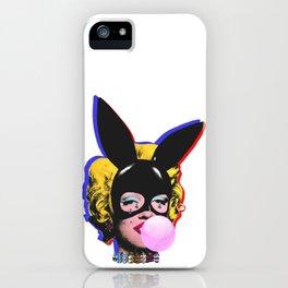 Bunny ears and  Diamond tears iPhone Case