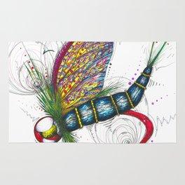 Mayfly Madness Rug