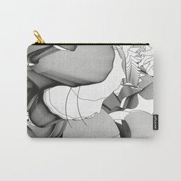 Metamorfosis #1 Abstract Art Line Carry-All Pouch