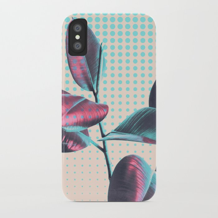 Polka Dots on Greenery iPhone Case