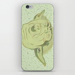 Yoda and the green force iPhone Skin