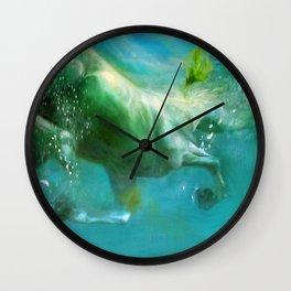 Under water I Wall Clock
