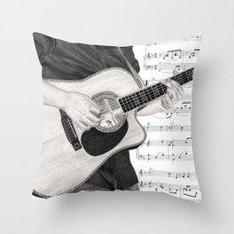 A Few Chords Throw Pillow