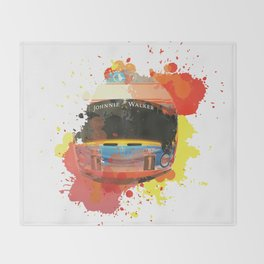 Fernando Alonso #14 - 2017 Throw Blanket
