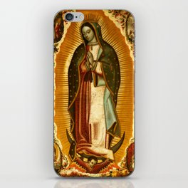 Our Lady Virgin of Guadalupe Virgin Mary Holy Blessed Maria Christmas Gift Religion iPhone Skin
