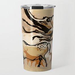 Cave Painting - Giant Bug! Travel Mug