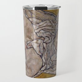 "Egon Schiele ""Reclining Woman"" Travel Mug"
