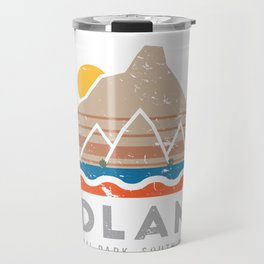 Badlands National Park, South Dakota Travel Mug