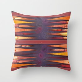Backgammon Throw Pillow