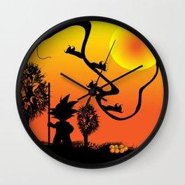 dragon ball Wall Clock
