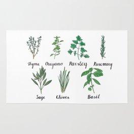 Herbs Rug