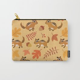 Autumn chipmunks Carry-All Pouch