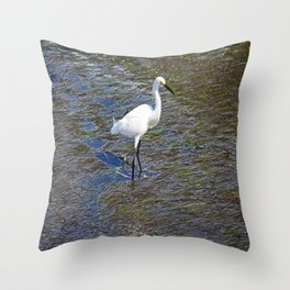 Provocative Pretender - horizontal Throw Pillow