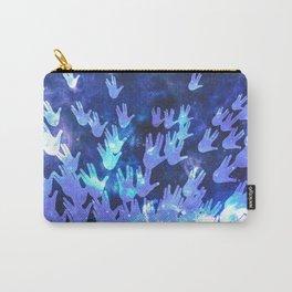 H.E.L.L.O. / blue Carry-All Pouch