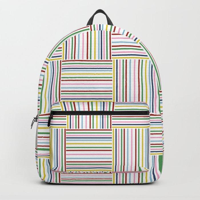 Basket Weave Backpack