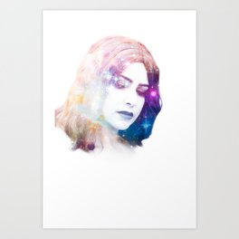 Deity I Art Print