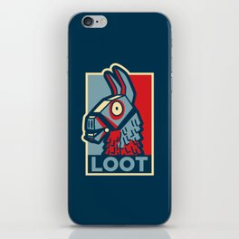 Loot Llama Hope v2 iPhone Skin