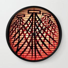 Paper Lanterns I Wall Clock