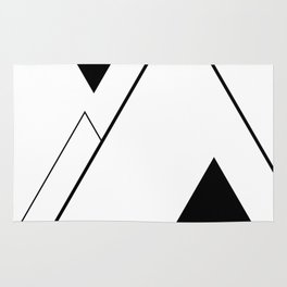 Minimal Mountains Rug