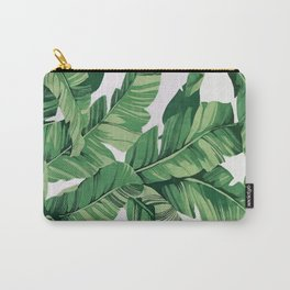 Tropical banana leaves VI Carry-All Pouch