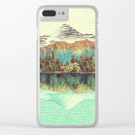 The Unknown Hills in Kamakura Clear iPhone Case
