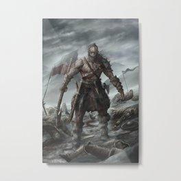 Skoljorn - The Berzerker Metal Print