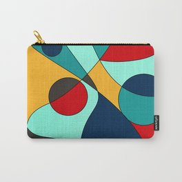 Abstract pattern Cuts Carry-All Pouch