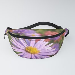 Pink Asters Fanny Pack