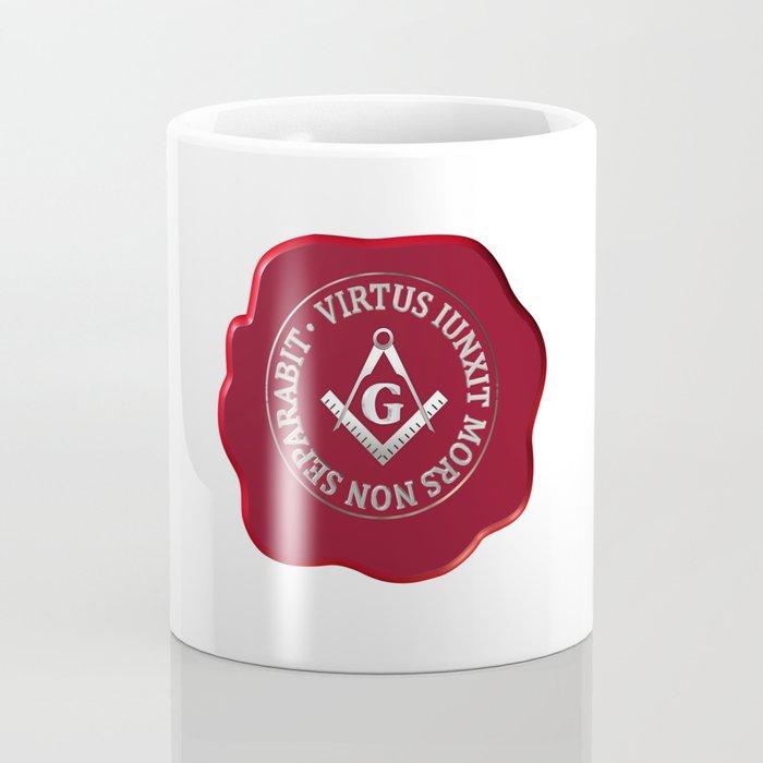 Masonic wax seal Coffee Mug